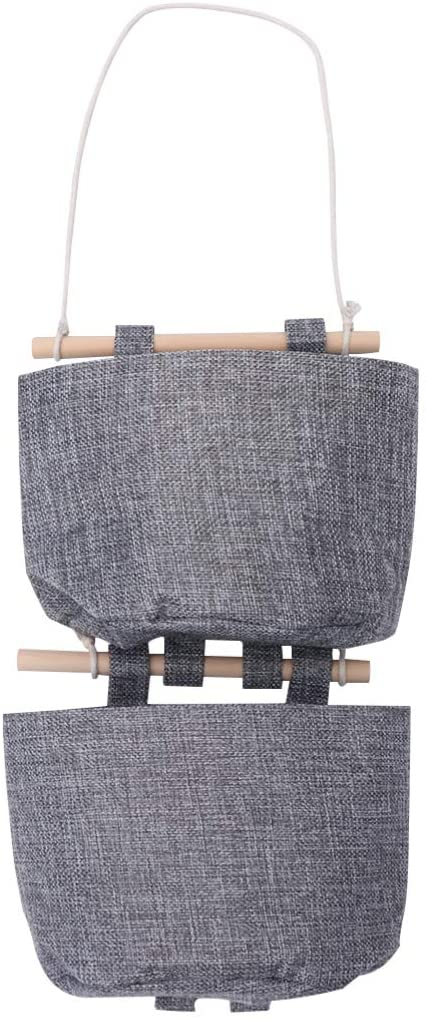 TOPBATHY Wall Bag Hanging Baskets Wall Sundries Organizer Artistic Storage Pouch for Hotel Restaurant Cafe Home