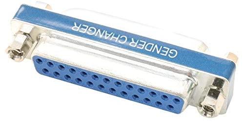 DGB25F - D Sub Connector Adapter, Standard D Sub, Receptacle, 25 Positions, Standard D Sub, Receptacle (Pack of 5) (DGB25F)