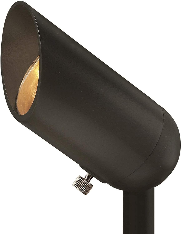 Hinkley Landscape Lighting LED Spot Light – Spotlight Important Landscape Features and Increase Home Security, LED Spot Light, Bronze Finish, 1536BZ-3W3K