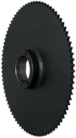 Martin Sprocket & Gear 41SK112 - Bushing Bore Roller Chain Sprocket - 41/1/2 in, 112, SK Bushing, Steel