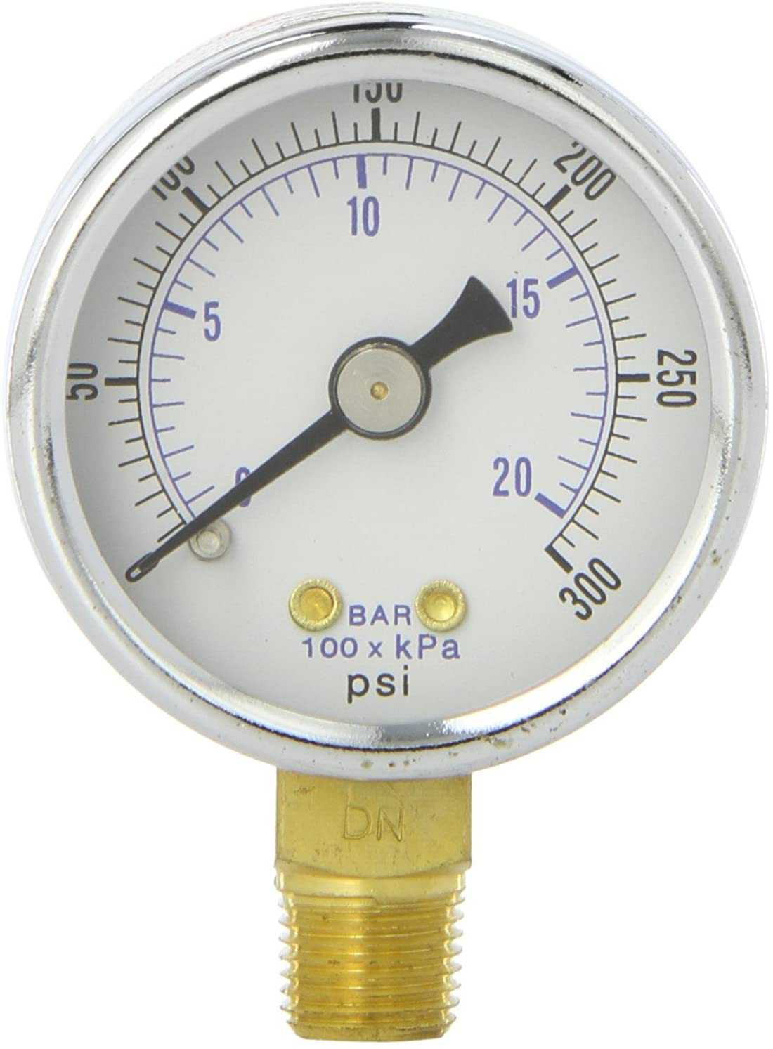 Sellerocity Heavy Duty Compressor Gauge Compatible with Campbell Hausfeld GA016300AV Includes Roll Of Thread Tape