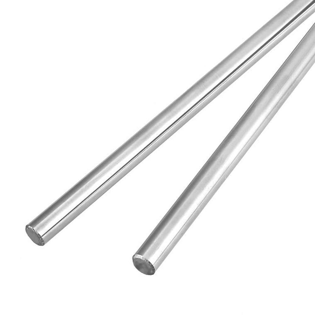 2PCS 6mmX350mm Linear Motion Rod Shaft Guide Diameter 6mm for DIY Craft Tool