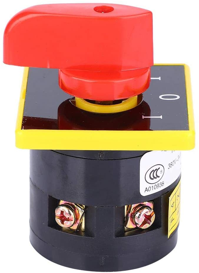 Changeover Switch 10A 380V~3KW HZ5B-10/1 Rotary Changeover Switch 3 position Rotate Cam Combination Changeover Switch (1 Layer)