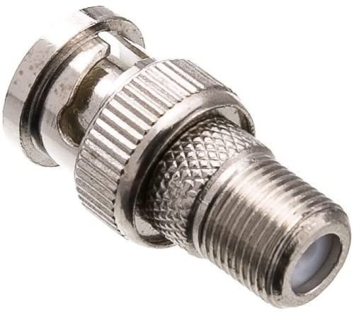 ACL F-pin Female to BNC Male Adapter, 25 Pack