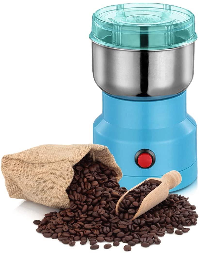 YKB Multifunction Smash Machine Grinder Portable Household Electric Cereals Grain Grinder,Coffee Bean Seasonings Spices Milling Ultra Fine Dry Food Powder Machine