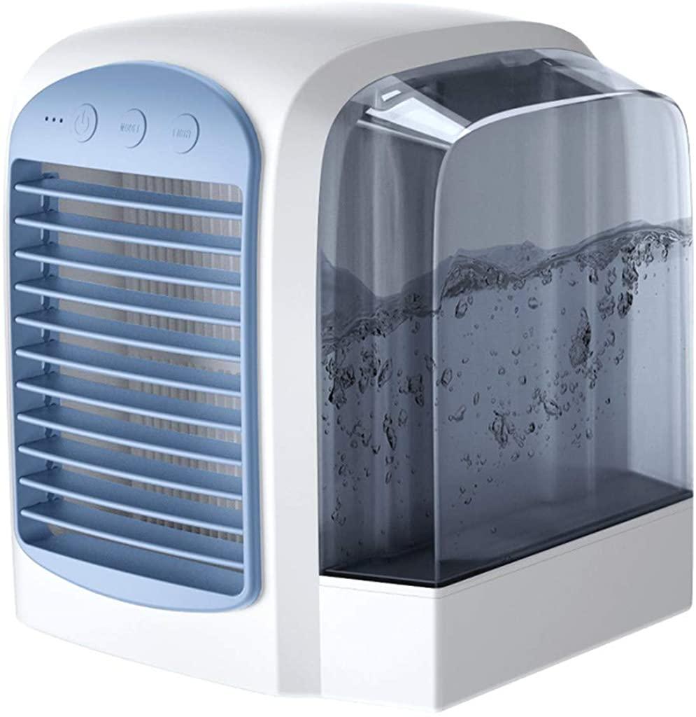 Goiwiejhg USB Charging Air Conditioner Fan Mini Portable Refrigerator Air Cooler Nano FanAir Coolers for Room Portable