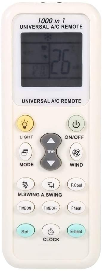 Goshyda Air Conditioner Remote Control K-1028E Portable Universal Intelligent Replacement Air Conditioner Remote Control