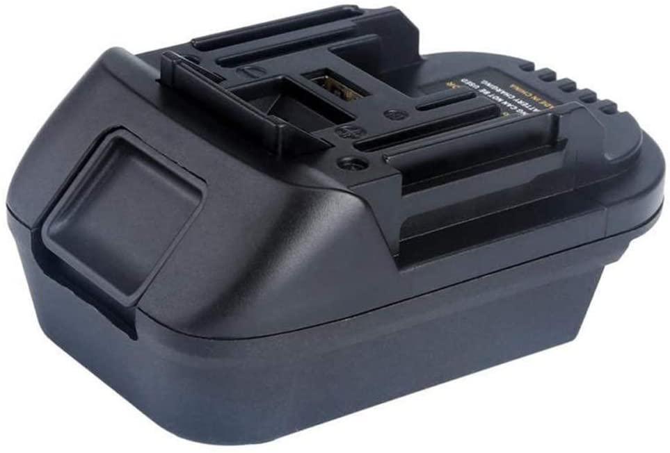LOadSEcr's Power Plug Adapter - International Travel Converter,20V to 18V Lithium Battery with Port for DEWALT MAKITA USB Chargers