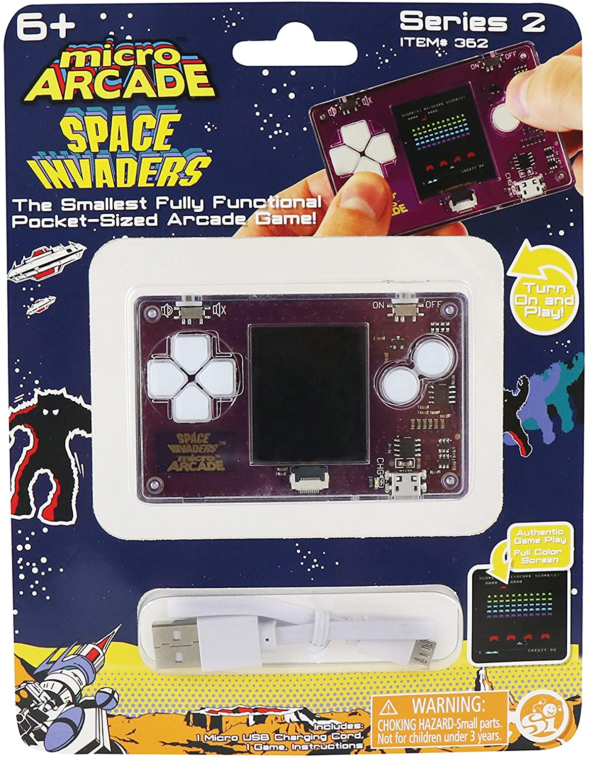 Micro Arcade Space Invaders