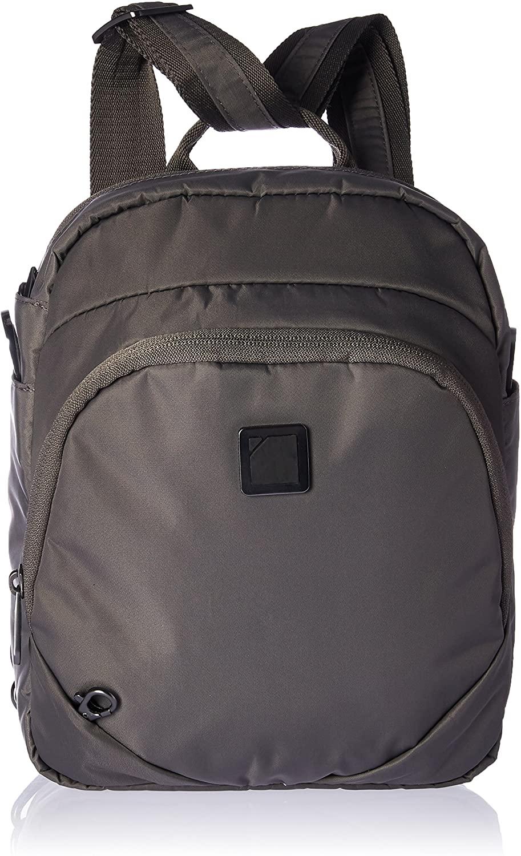 Lewis N. Clark Secura RFID Blocking Anti-Theft Backpack + Crossbody Bag for Travel, Slate