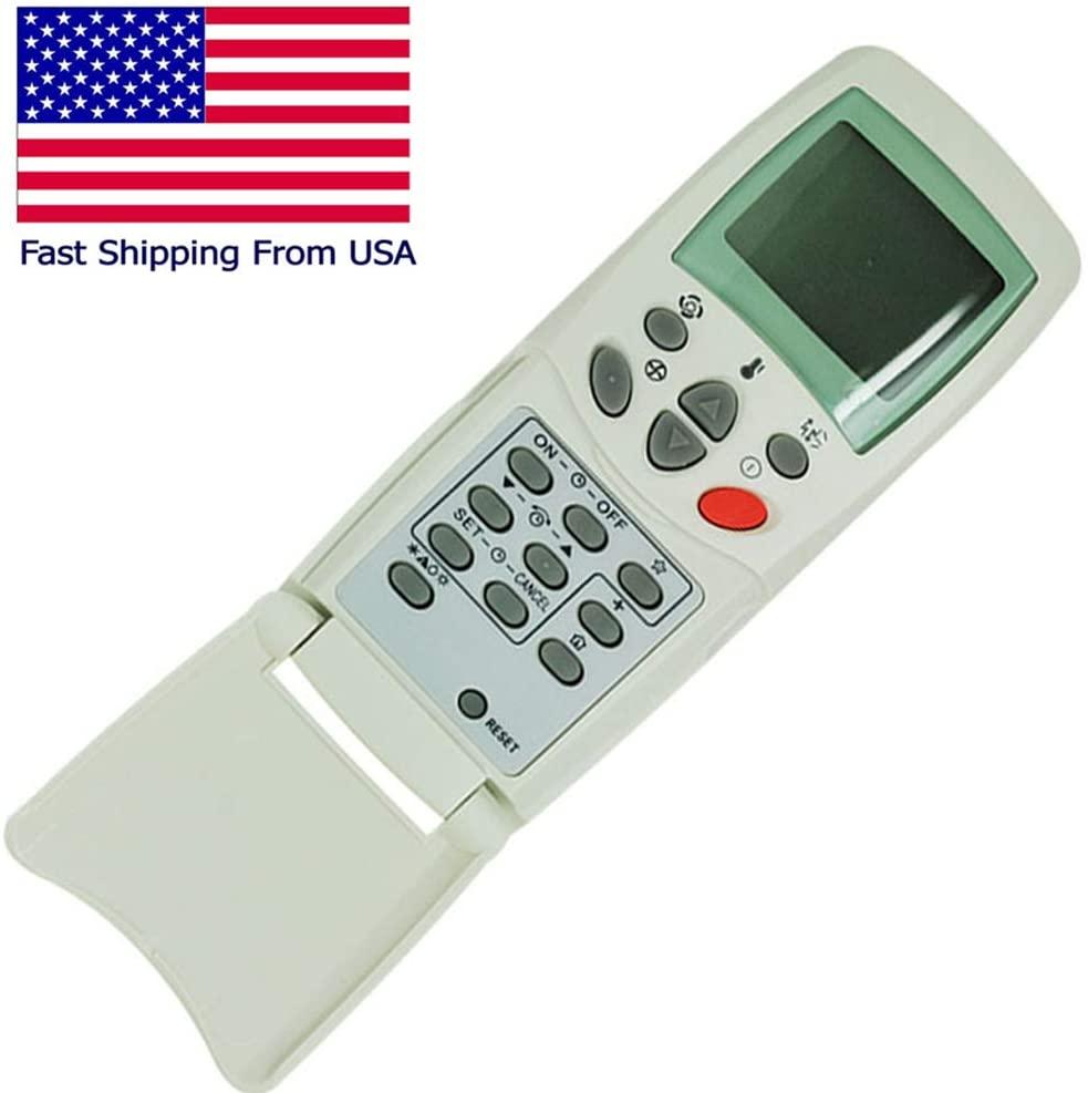 CHOUBENBEN Remote Control for GE ADV12AAG1 ADV14AAG1 AS0CD18DA0G1 AS0RD18DA0G1 AS1CD18DA0G1 AS1RD18DA0G1 A/C AC Air Conditioner