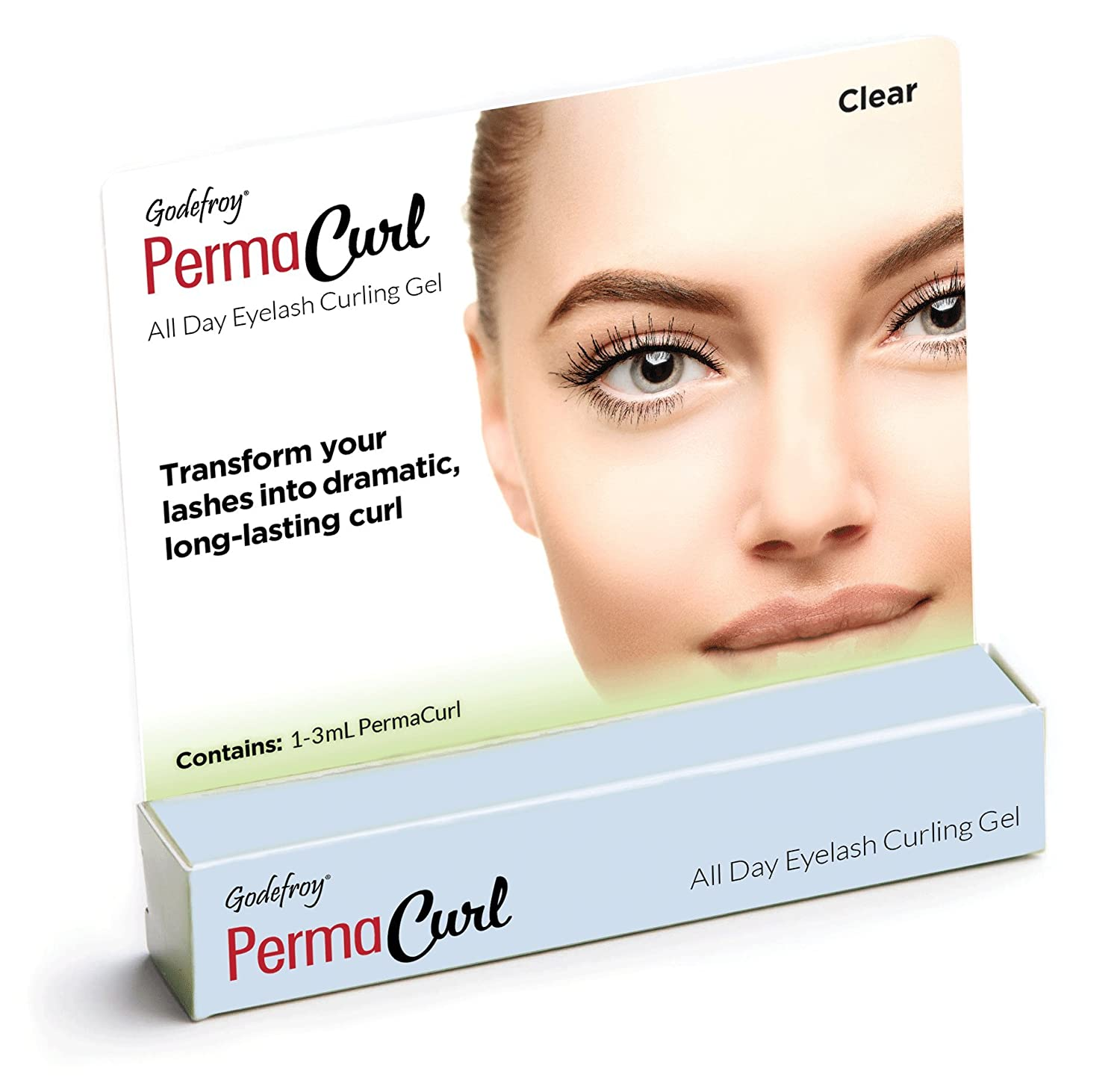 Godefroy Permacurl All Day Eyelash Curling Gel, 0.1 Ounce