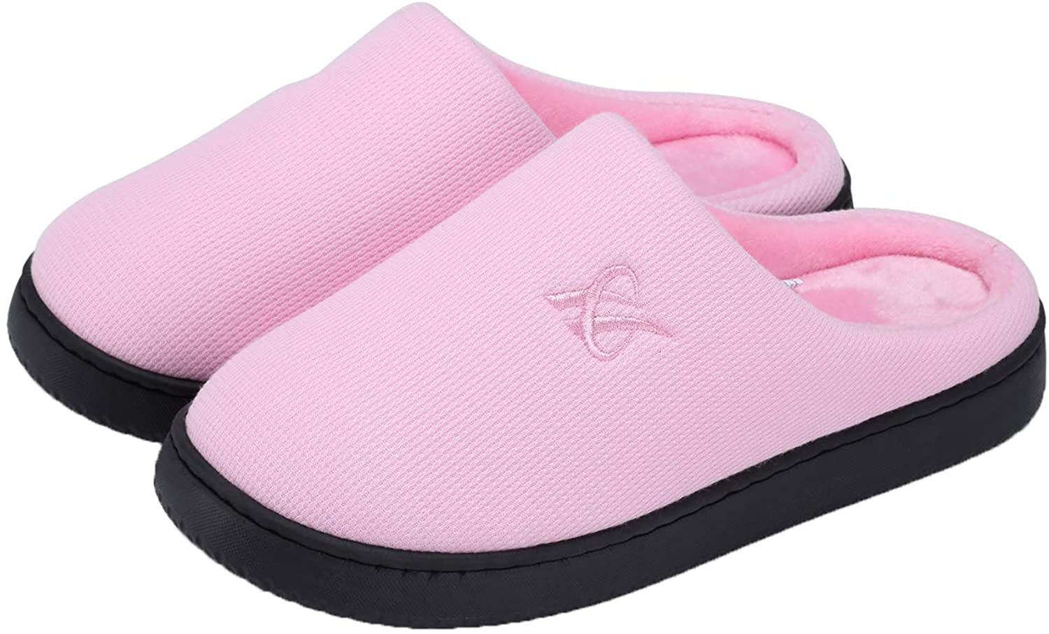 landeer Memory Foam Cotton Slippers Couple Style Men's and Women's House Casual Shoes