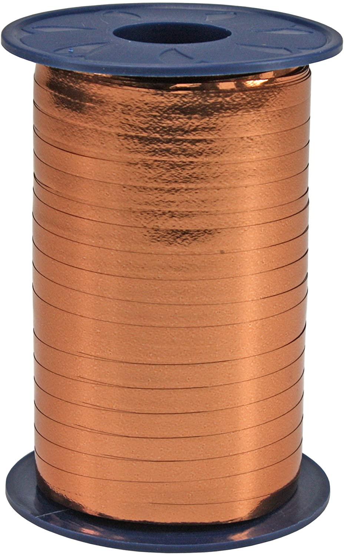 Präsent Metallic Curling Ribbon, Copper, 5 mm-400 m