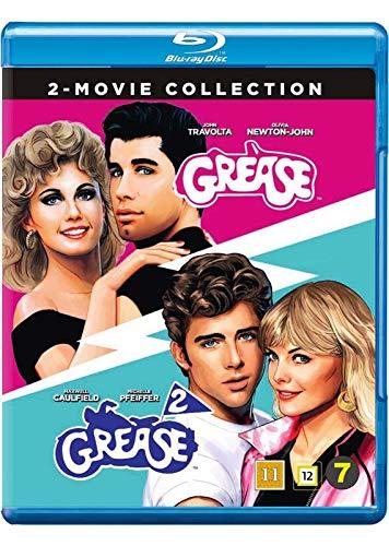 Grease / Grease 2 [ Blu-Ray, Reg.A/B/C Import - Denmark ]