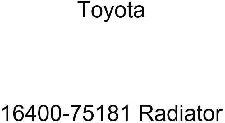Genuine Toyota Parts - Radiator Assy (16400-75181)