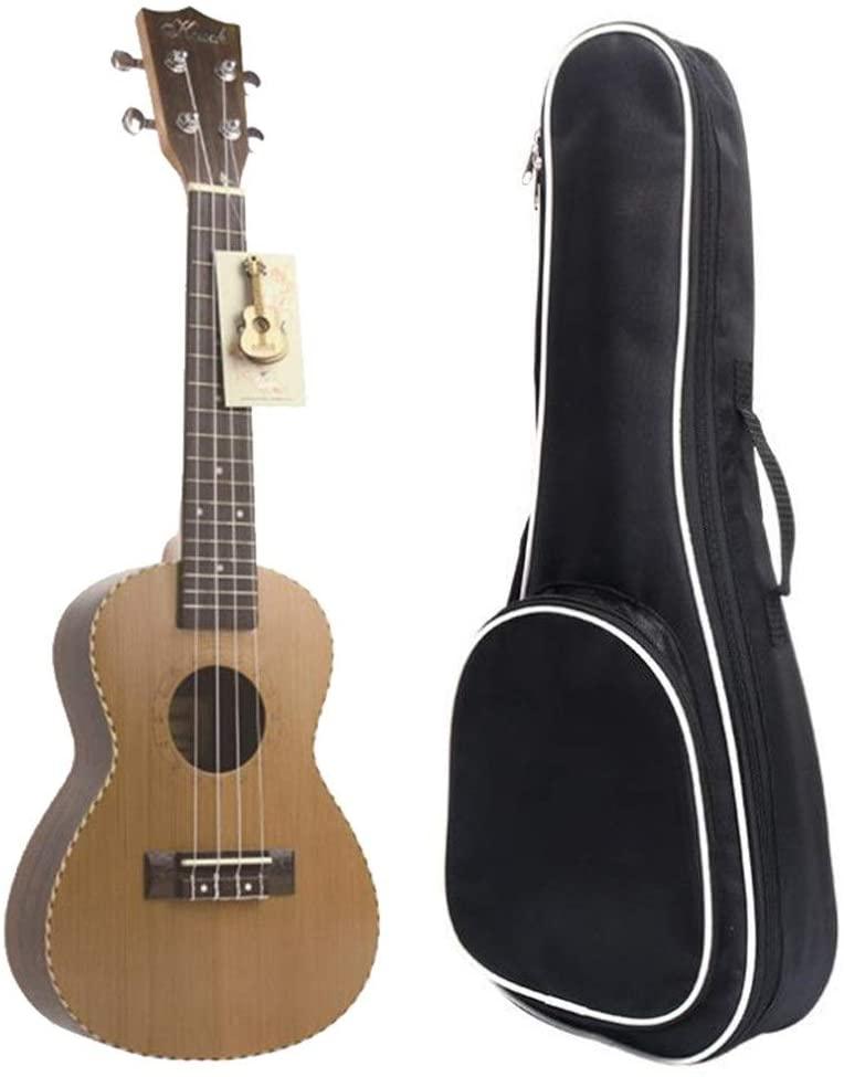 Ukulele Matte Rosewood 24 Inches Concert Professional Ukulele Hawaii Kids Guitar Uke with Gig Bag for Students Beginners Beginner Ukulele (Color : Wood, Size : 24 inches)