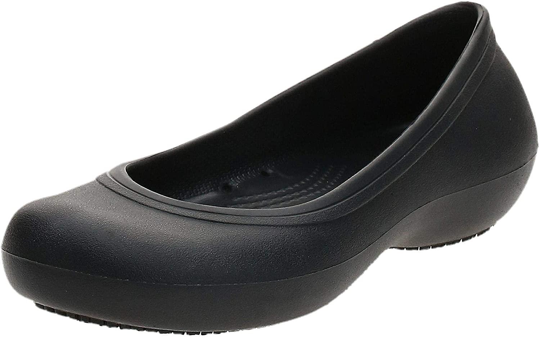 Crocs Women's Kad2workflatw Ballet Flat
