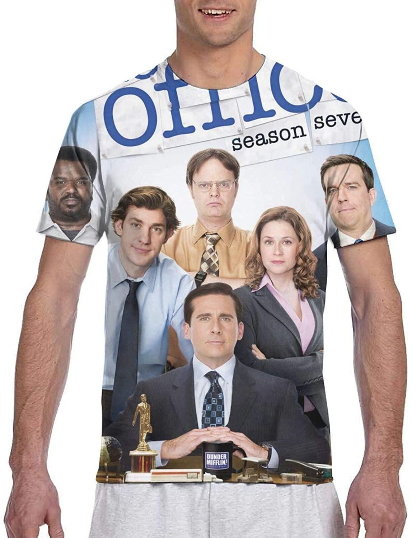 Gerneric Dwight Schrute Fashion Cotton Men's Short Sleeve Printed Tshirt