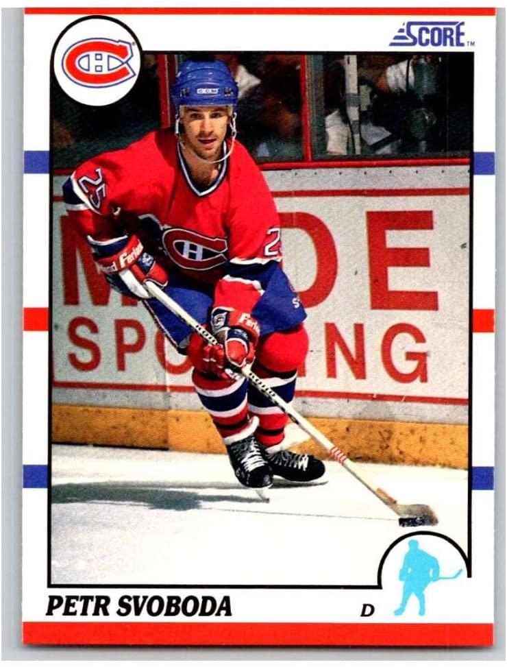 1990-91 Score #191 Petr Svoboda Mint Hockey NHL Canadiens
