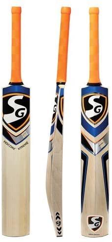 SG Hi Score English Willow Cricket Bat Size SH(Color May Vary)