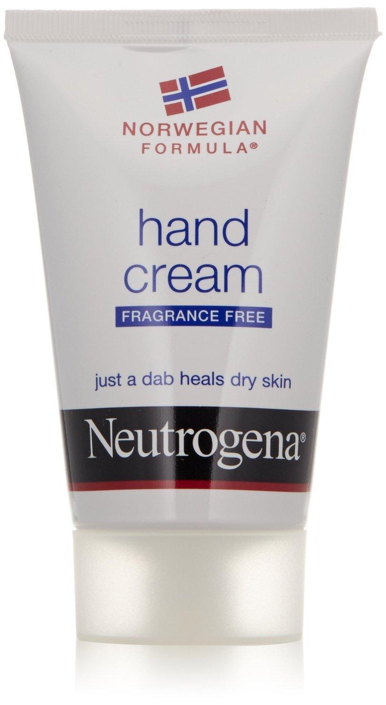 Neutrogena Norwegian Formula Moisturizing Hand Cream Formulated with Glycerin for Dry, Rough Hands, Fragrance-Free Intensive Hand Cream, 2 oz (Pack of 2)