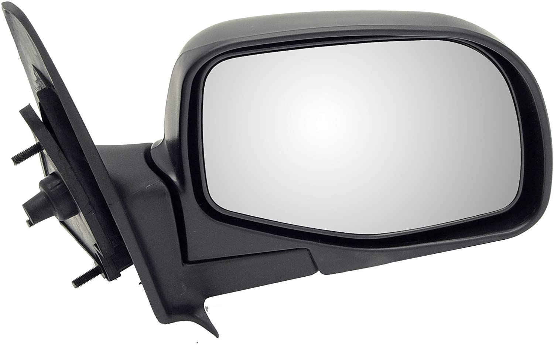 Dorman 955-007 Passenger Side Manual Door Mirror - Folding for Select Ford Models, Black