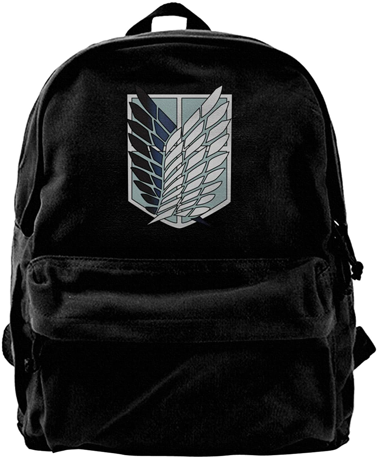 Tymeihao Attack On Titan Backpack Casual Daypack