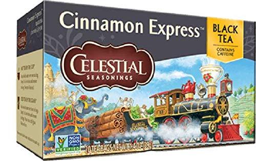 Celestial Seasonings Cinnamon Express Black Tea Single Box