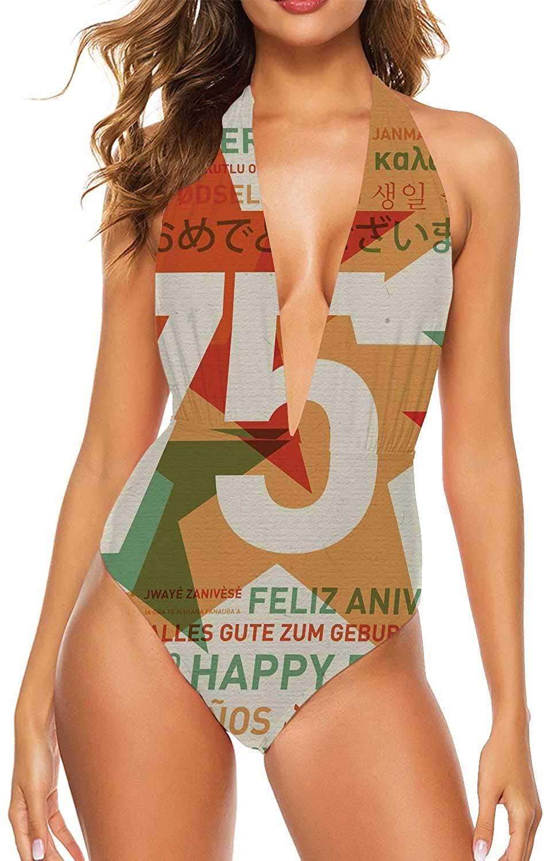 Letter T,Women's Ladies Bikini Sets Beach Swimwear Bathing Suit Stacked from Gaming Balls Alphabet S
