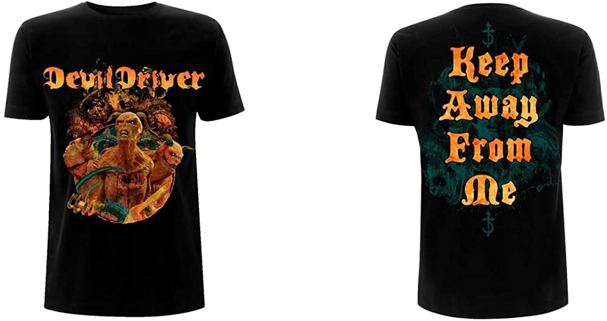 Devildriver T Shirt Keep Away From Me Band Logo Official Mens Black