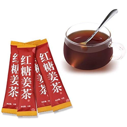 10g(0.022lb)/pc China Brown Sugar Ginger Tea Health Instant Tea Women Nourishing The Stomach Organic Herbal Tea organic decaf black tea Red Tea (1pc)
