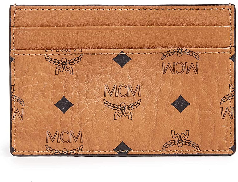 MCM Men's Visetos Card Case