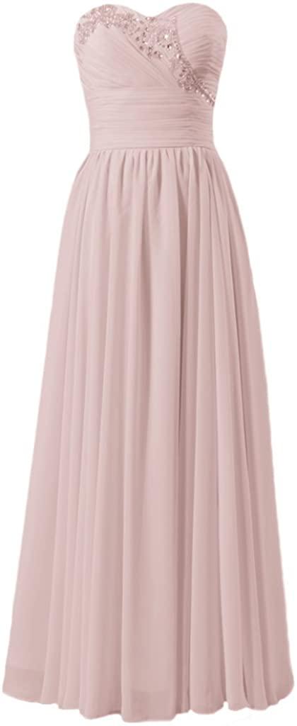 DaisyFormals Quality Chiffon Bridesmaid Dress Beaded Party Dress (BM1044)