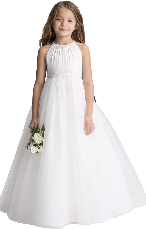 fairy Girl Flower Girl Dress Tulle Bridesmaid Dress For Wedding Party Aline