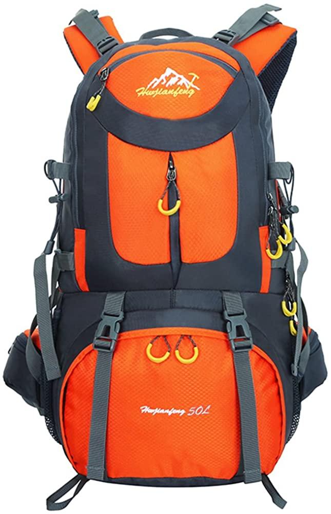 SUGOIDAN Hiking Backpack Waterproof Travel Fishing Climbing Camping Hiking Daypack