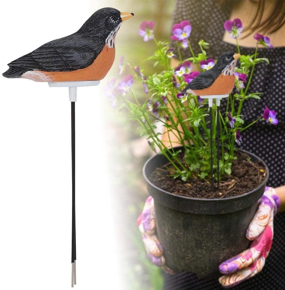 Boquite Soil Moisture Sensor Meter Tester, Moisture Sensor Hygrometer Great for Garden, Farm, Lawn, Indoor & Outdoor(Battery Included)(Brown)