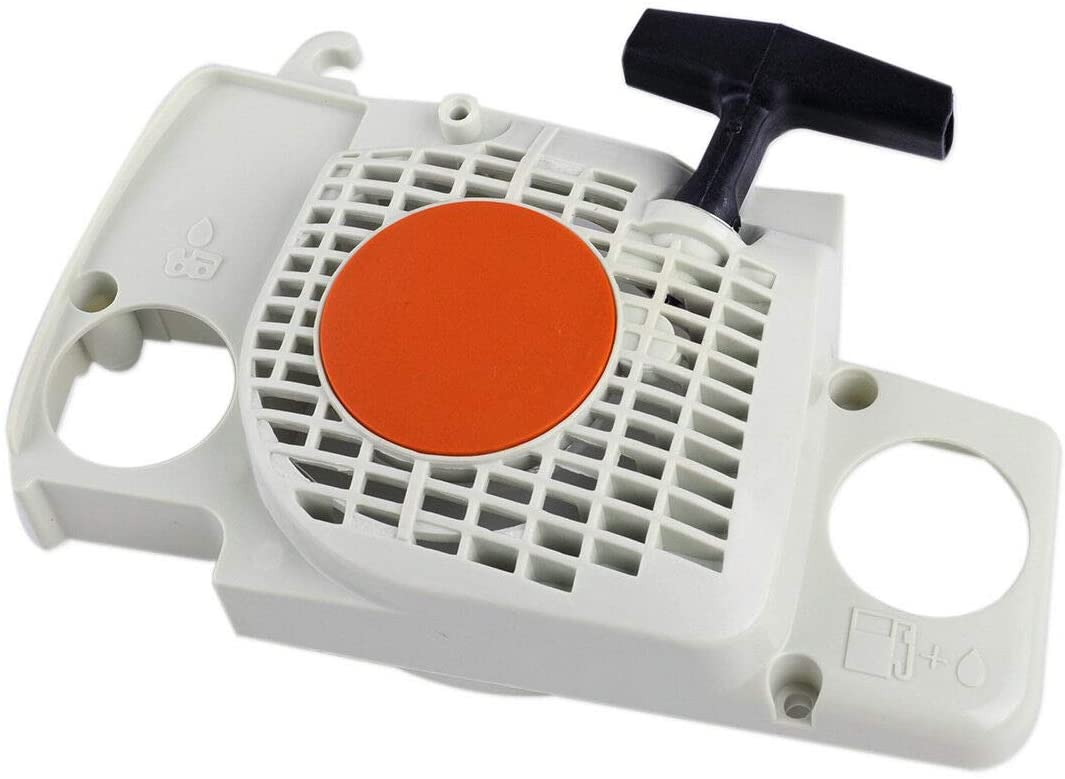 Ineedtech Recoil Rewind Pull Starter Assembly 1130-080-2100 for Stihl 017 018 MS170 MS180 Chainsaws