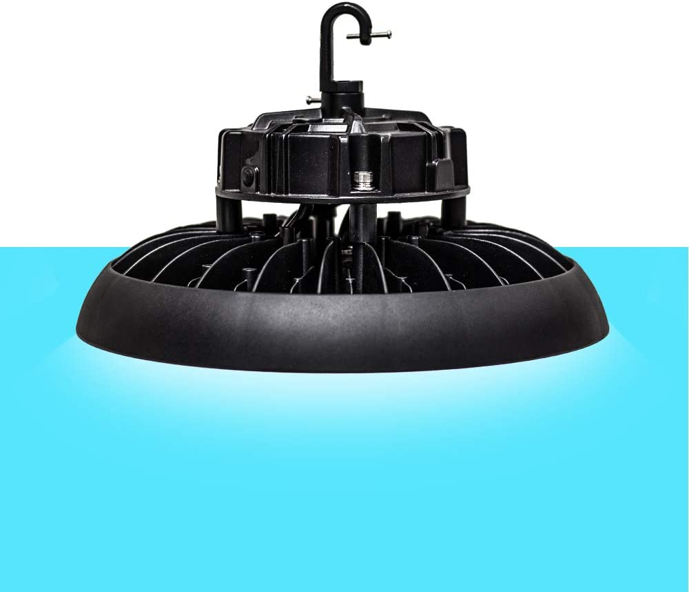 Westgate Lighting LED UFO Highbay Lights For Warehouses Commercial Settings - 130 LM/W LED Commercial Lighting - Dimmable - Waterproof - Aging Resistant (240W 5000K Cool White)
