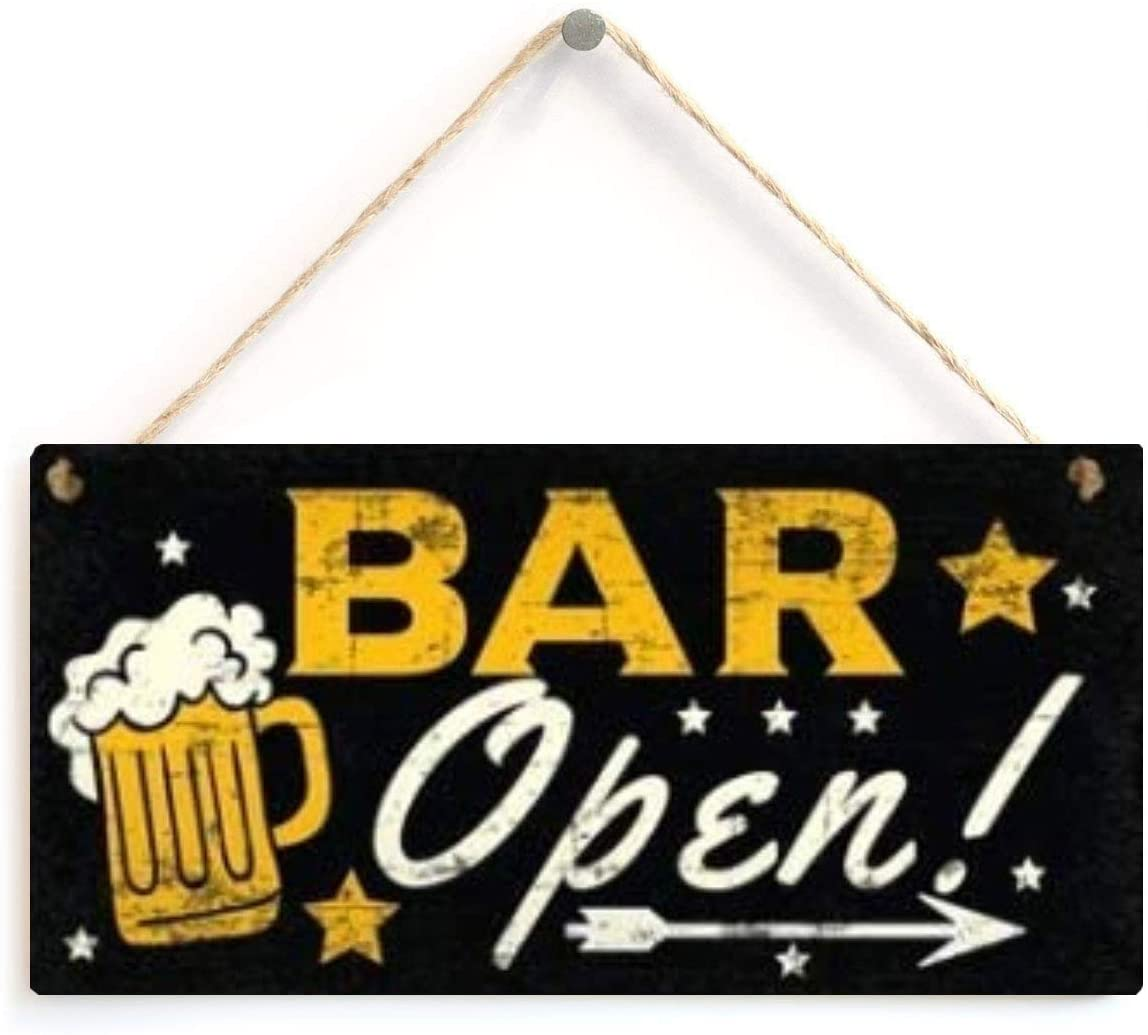 LWF Shots Menu Cafe Bar Pub Wall Decor Wooden Sign Vintage Home Decor Sign Wooden Plaque Cool Plate Coffee Wood Poster Wall Decals