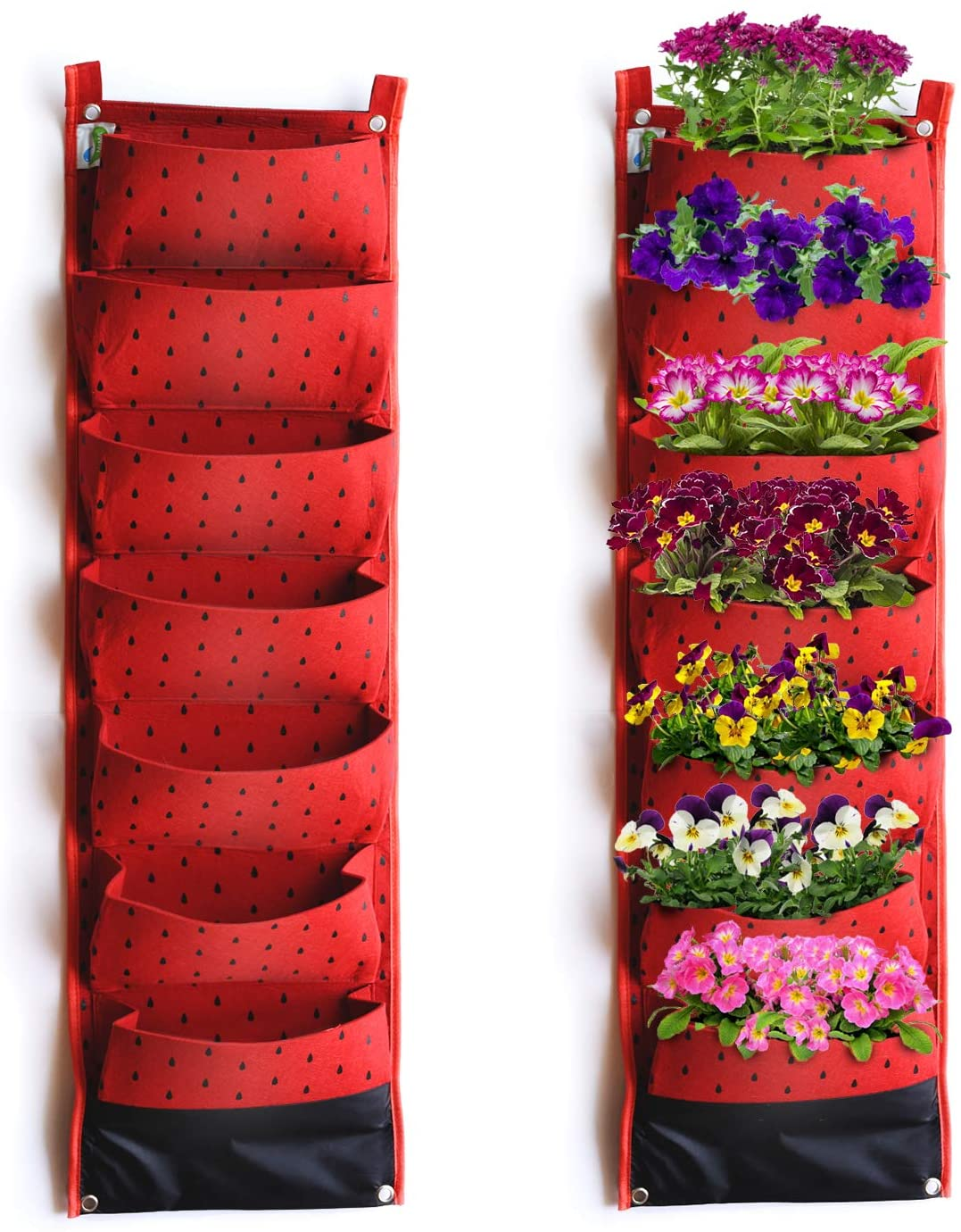 MIMA2672 Hanging pots (Red)