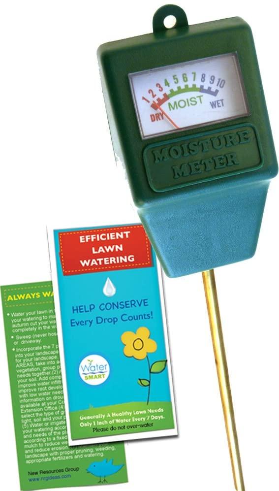 Moisture Meter Sensor & Lawn Watering Guide | Plant, Grass & Garden Care