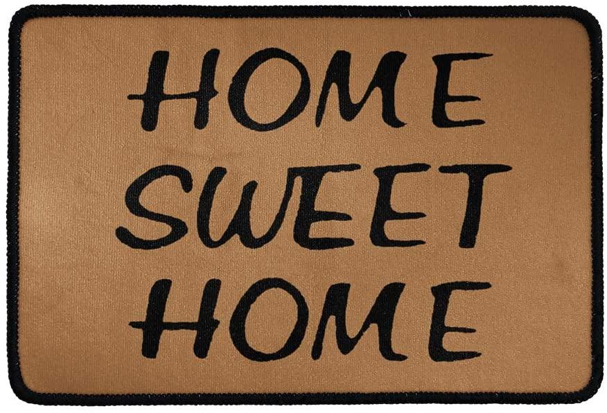 Buybai Sweet Home Doormat Door Mats Anti-Slip Front Door Welcome Mat Entrance Floor Rugs