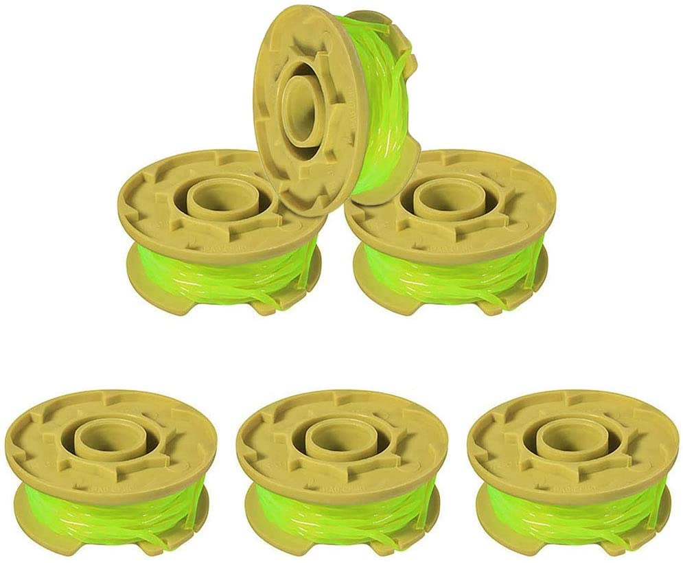NACTECH Replacement Trimmer Spool for Ryobi One Plus AC80RL3 Weed Eater Cordless Trimmers Line Twist Single Line Parts 18v 24v 40v 11ft 0.08inch