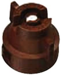 TeeJet XRC11005-VS Extended Range Spray Tip, 0.31-0.61 GPM, 15-60 psi, Stainless Steel - Brown