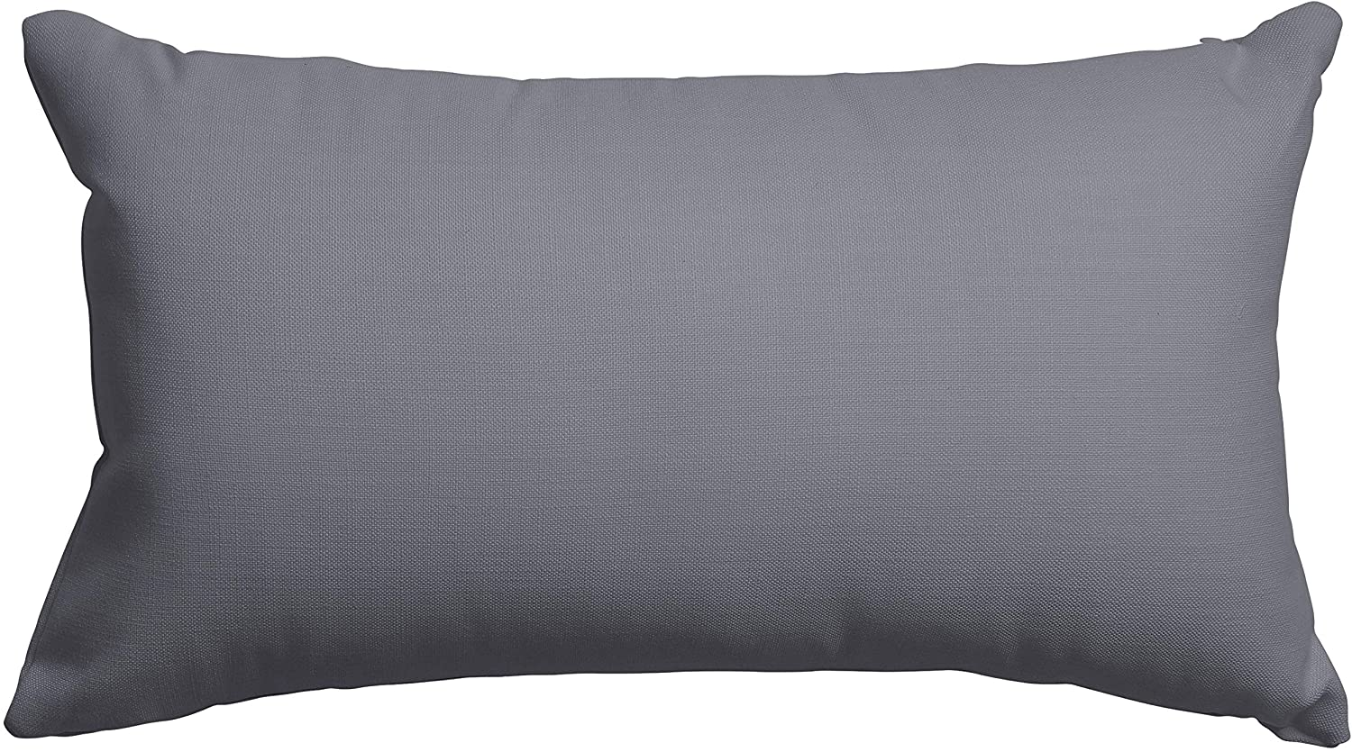 Majestic Home Goods Gray Solid Indoor / Outdoor Small Throw Pillow 20