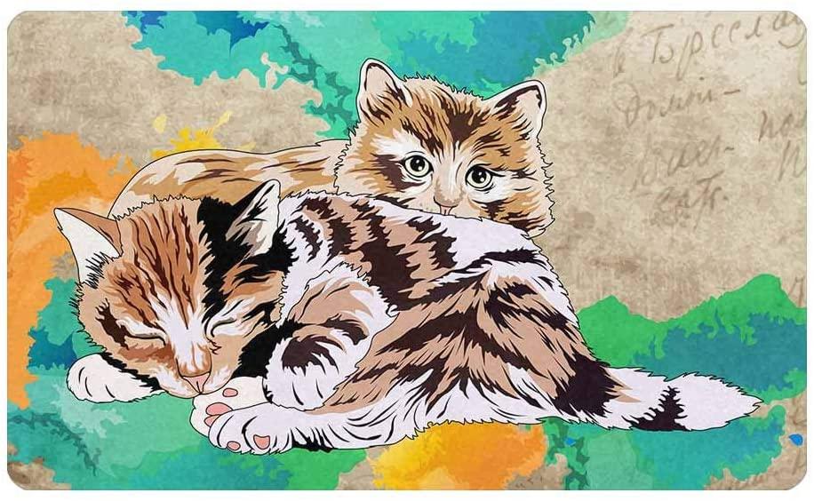 InterestPrint Funny Kittens Portrait 30