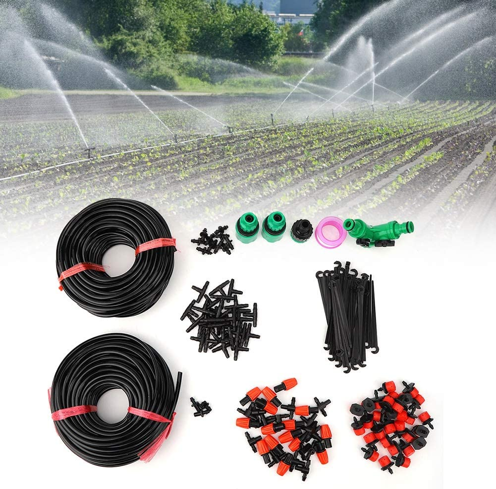 Alinory Watering Kit, Adjustable Irrigation Hose Set, for Watering Plants Flowers