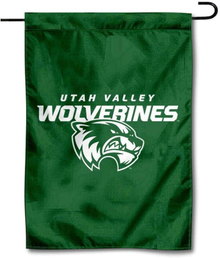 Utah Valley Wolverines Garden Banner Flag