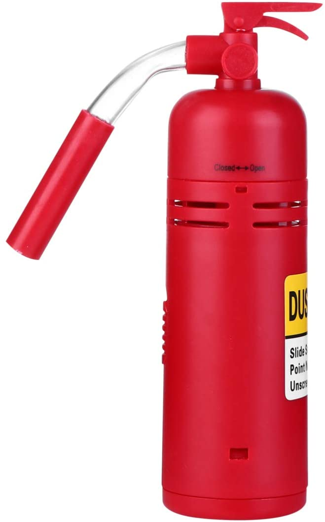 ULTECHNOVO Mini Tabletop Vacuum Cleaner Extinguisher Shaped - Mini Desktop Vacuum